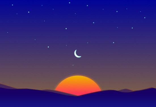 تطبيق Sunrise calendar