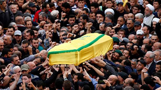 حزب الله يبرئ إسرائيل من حادث اغتيال قائده فى سوريا  (5)