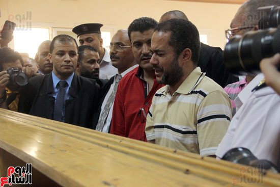 1السيد زينهم عبد الرازق - امين الشرطه المتهم بقتل بائع الشاى (1)