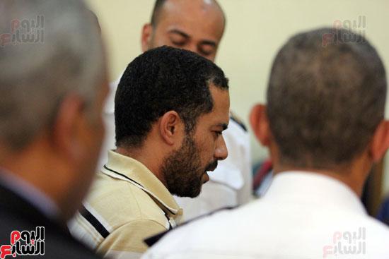 1السيد زينهم عبد الرازق - امين الشرطه المتهم بقتل بائع الشاى (29)
