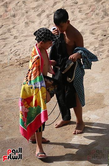 شواطى الاسكندرية فى الصيف) (2)
