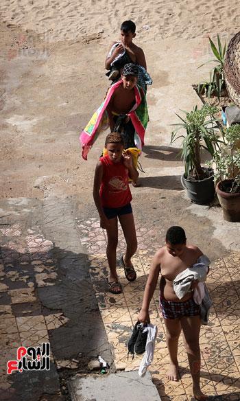 شواطى الاسكندرية فى الصيف) (3)