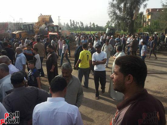 ننشر أسماء المصابين فى انهيار مصنع طوب بقرية غزال بكفر الشيخ (1)