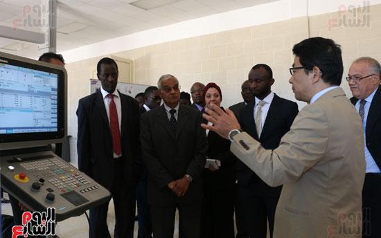 كانشيرو موكاى نائب رئيس البعثة اليابانية بالقاهرة (1)