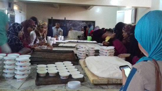 المشروعات الصغيرة لشباب مركز بلاط بالوادى الجديد  (9)