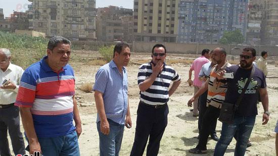 مدير أمن الغربية يتفقد اثار حريق مستشفى المبرة  (4)