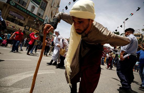 الفلسطينيون يحيون الذكرى الـ68 للنكبه (1)