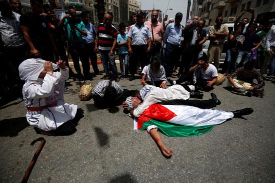 الفلسطينيون يحيون الذكرى الـ68 للنكبه (2)