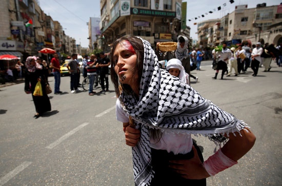 الفلسطينيون يحيون الذكرى الـ68 للنكبه (3)