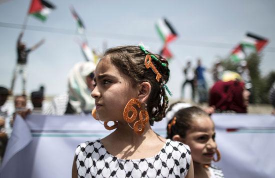 الفلسطينيون يحيون الذكرى الـ68 للنكبه (8)