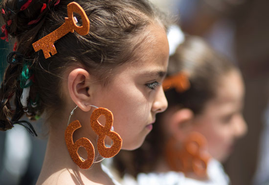 الفلسطينيون يحيون الذكرى الـ68 للنكبه (9)