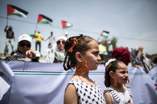 الفلسطينيون يحيون الذكرى الـ68 للنكبه (11)