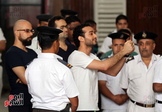 محاكمة أحمد دومة ومحمد عادل (10)