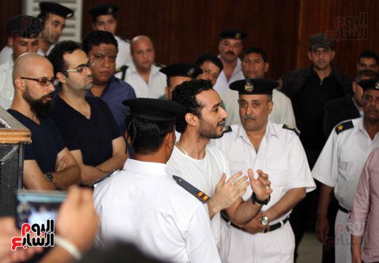 محاكمة أحمد دومة ومحمد عادل (11)