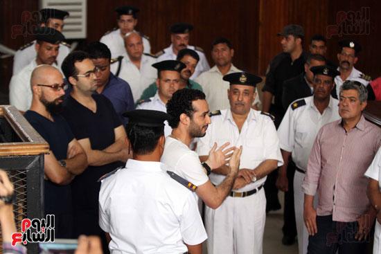 محاكمة أحمد دومة ومحمد عادل (12)