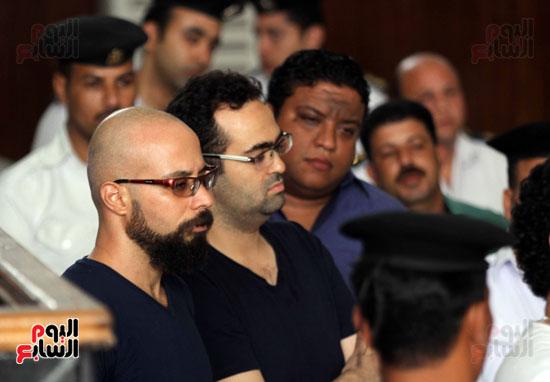 محاكمة أحمد دومة ومحمد عادل (13)
