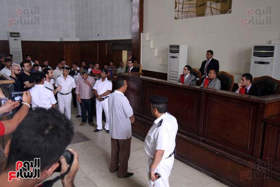 محاكمة أحمد دومة ومحمد عادل (14)