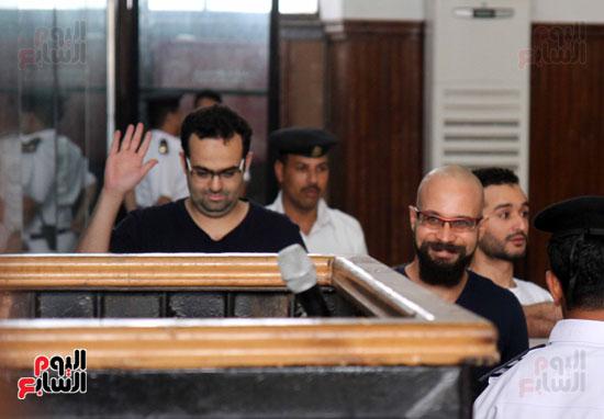 محاكمة أحمد دومة ومحمد عادل (2)