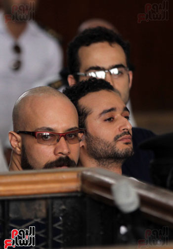 محاكمة أحمد دومة ومحمد عادل (3)