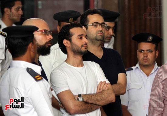 محاكمة أحمد دومة ومحمد عادل (4)