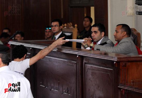 محاكمة أحمد دومة ومحمد عادل (6)