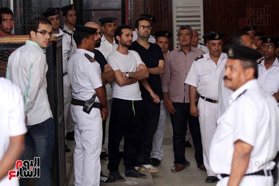 محاكمة أحمد دومة ومحمد عادل (7)