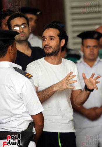 محاكمة أحمد دومة ومحمد عادل (9)