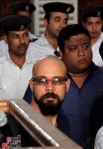 محاكمة أحمد دومة ومحمد عادل (15)