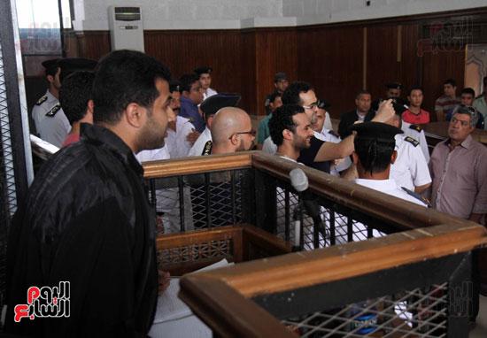 محاكمة أحمد دومة ومحمد عادل (16)