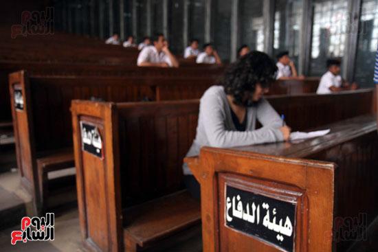 محاكمة أحمد دومة ومحمد عادل (17)