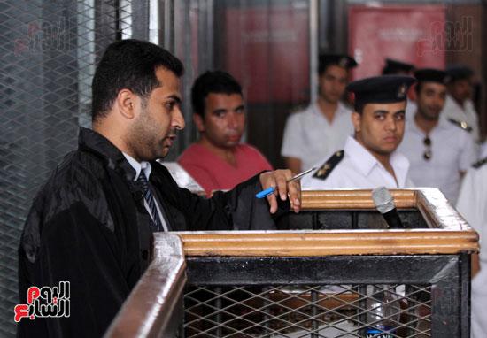 محاكمة أحمد دومة ومحمد عادل (18)