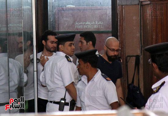 محاكمة أحمد دومة ومحمد عادل (23)