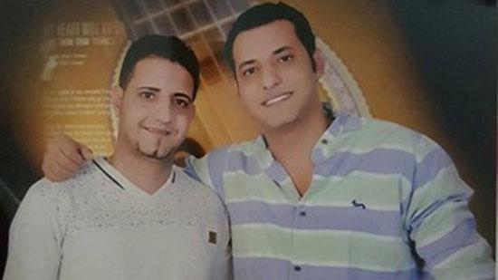 الشهيد-إيهاب-إبراهيم-معاون-مباحث-الخانكة-وشقيقه