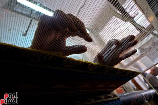 صناعة-السجاد-اليدوى-(13)