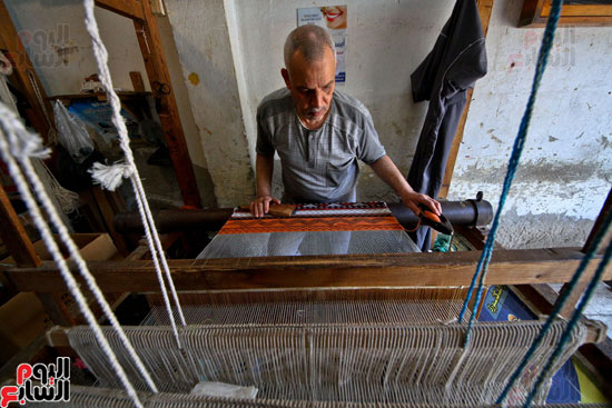 صناعة-السجاد-اليدوى-(5)