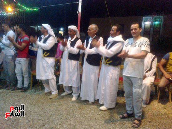 ثقافة الوادى الجديد تحتفل بعيد الحصاد  (1)