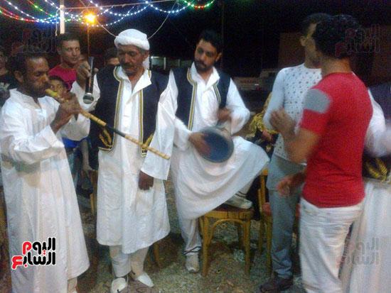 ثقافة الوادى الجديد تحتفل بعيد الحصاد  (3)