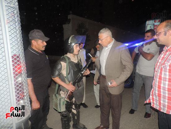 اللواء نبيل عبد الفتاح مساعد وزير الداخلية مدير أمن الغربية (3)