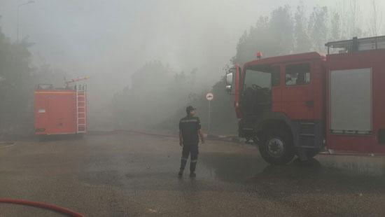 الحماية المدنية تسيطر على حريق (2)