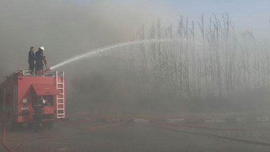 الحماية المدنية تسيطر على حريق (5)