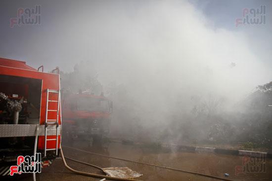 حريق مخزن بلاستيك (5)