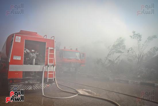 حريق مخزن بلاستيك (24)
