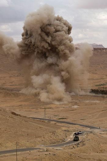 قاعدة عسكرية روسية فى تدمر  (2)