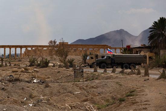 قاعدة عسكرية روسية فى تدمر  (4)