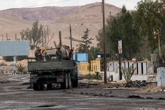 قاعدة عسكرية روسية فى تدمر  (5)
