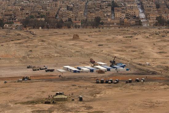قاعدة عسكرية روسية فى تدمر  (6)