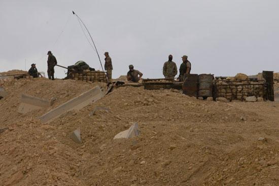 قاعدة عسكرية روسية فى تدمر  (7)