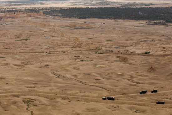 قاعدة عسكرية روسية فى تدمر  (8)