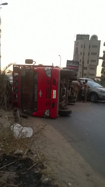 المنصورة ، أكاديمية مصر ، الطريق الدارئرى بالمنصورة ، حادث (6)