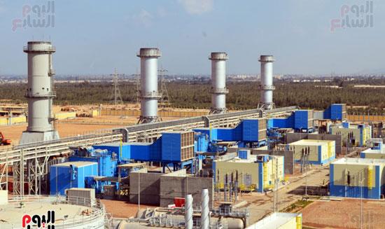 محطة كهرباء أسيوط (2)